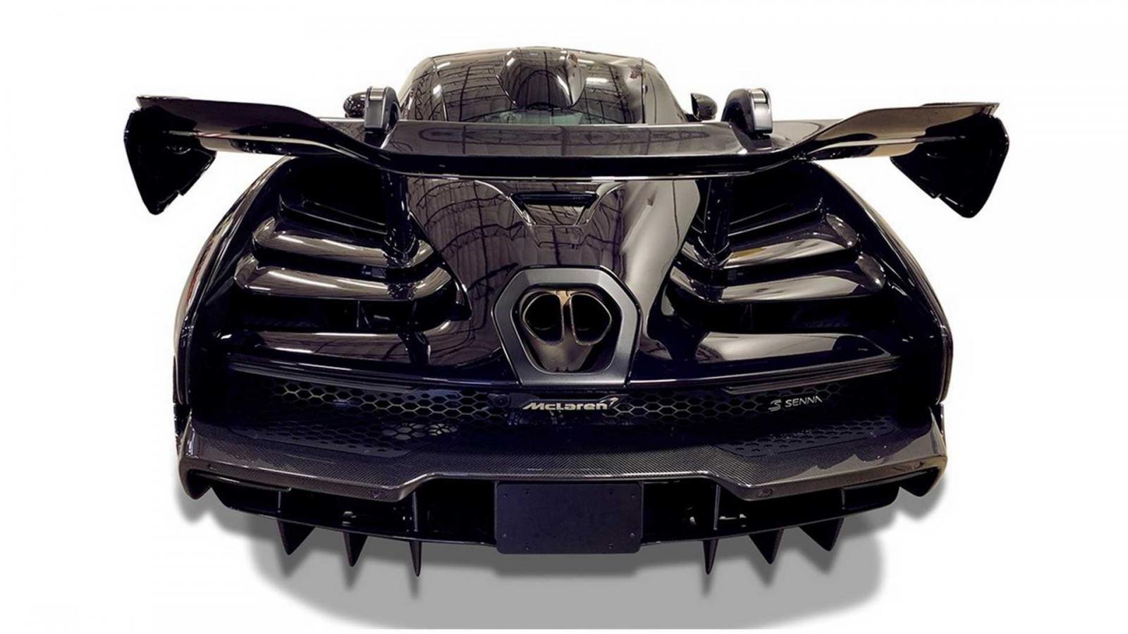 Siêu xe triệu đô McLaren Senna này còn sở hữu bộ áo cực hiếm mang màu sơn Amethyst Black