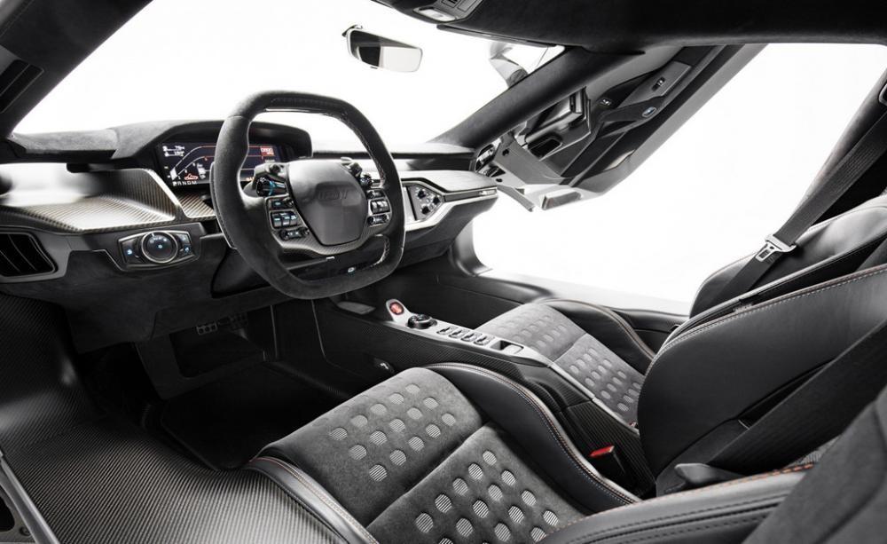 Nội thất siêu xe Ford GT Heritage Edition 2019