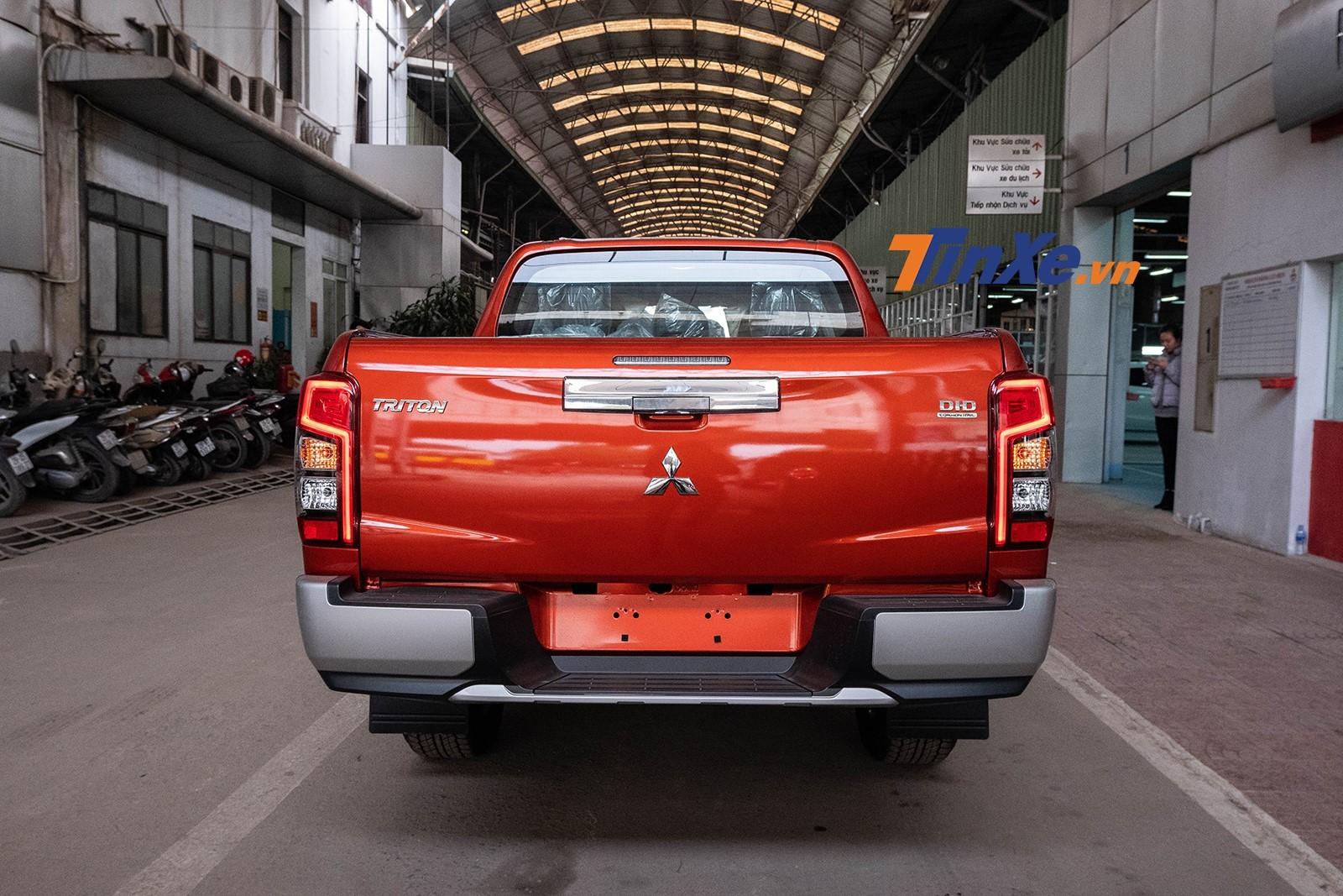 Thiết kế đuôi xe của Mitsubishi Triton 2019