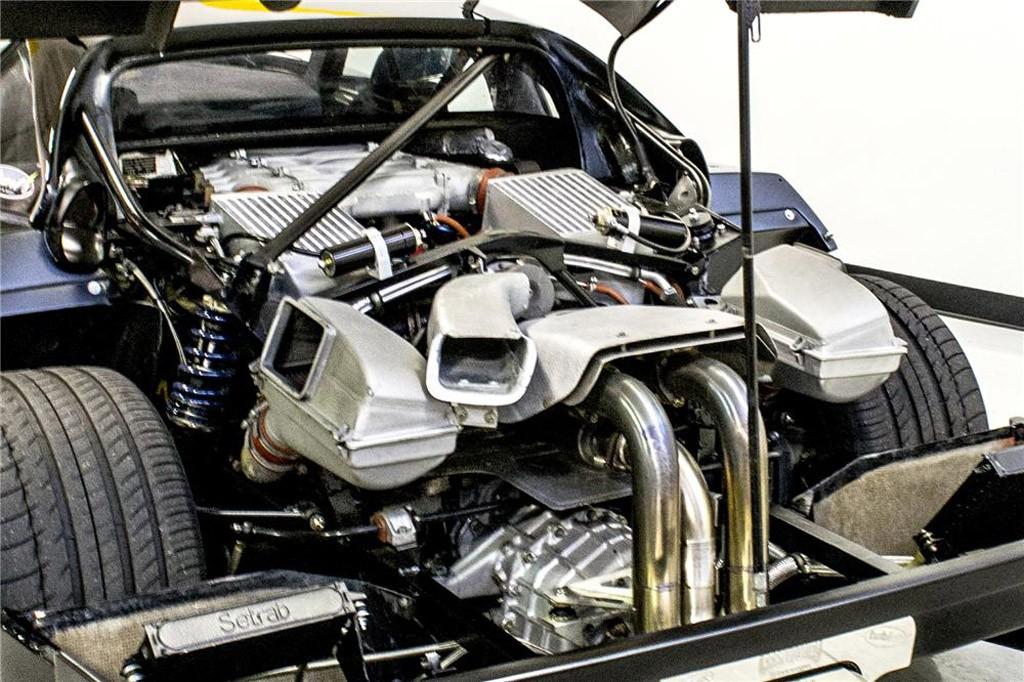 Động cơ của xe đã được hiểu chỉnh lại