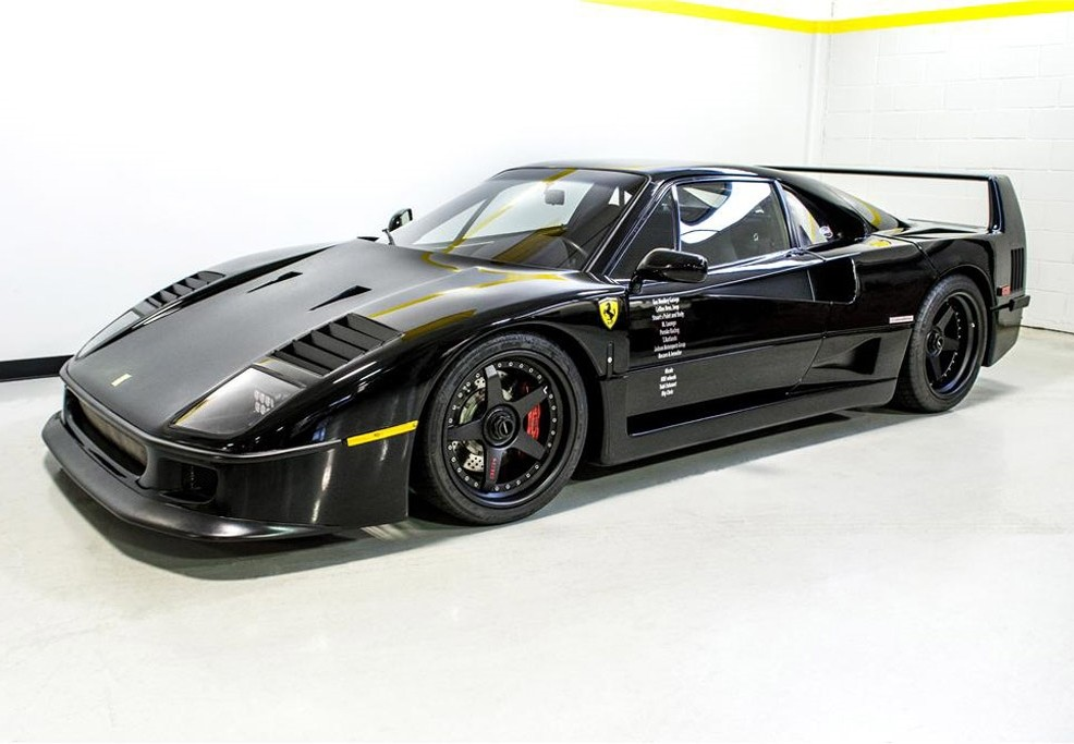 Chiếc siêu xe Ferrari F40 nổi tiếng nhất thế giới chuẩn bị tiếp tục lên sàn đấu giá tìm chủ nhân