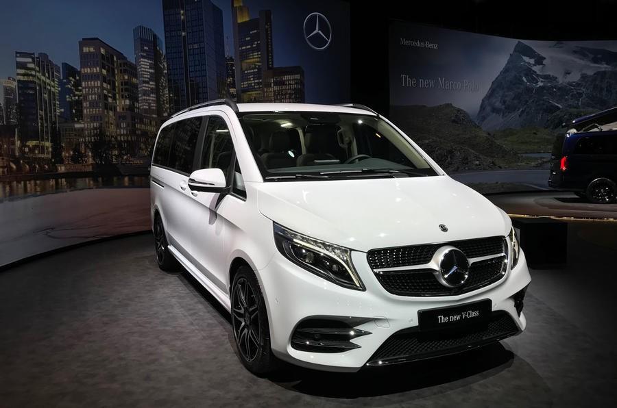 Mercedes-Benz V-Class 2019 được trang bị động cơ diesel 2.0 lít mới