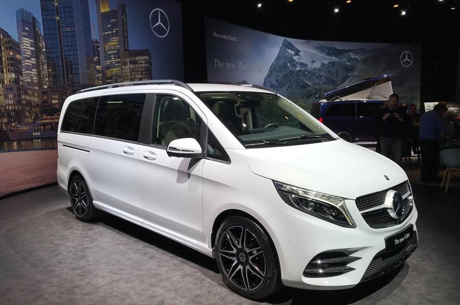 Mercedes-Benz V-Class 2019 trình làng tại châu Âu