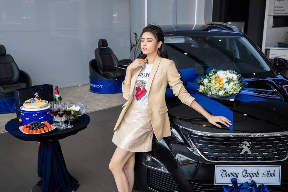 Crossover 5 chỗ Peugeot 3008 mà nữ diễn viên Trương Quỳnh Anh mới tậu có giá bán 1,2 tỷ đồng