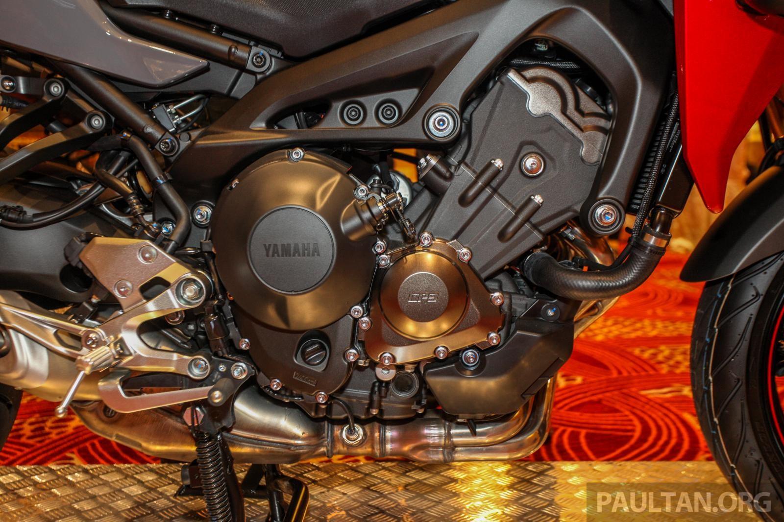 Động cơ Yamaha Tracer 900 GT 2019