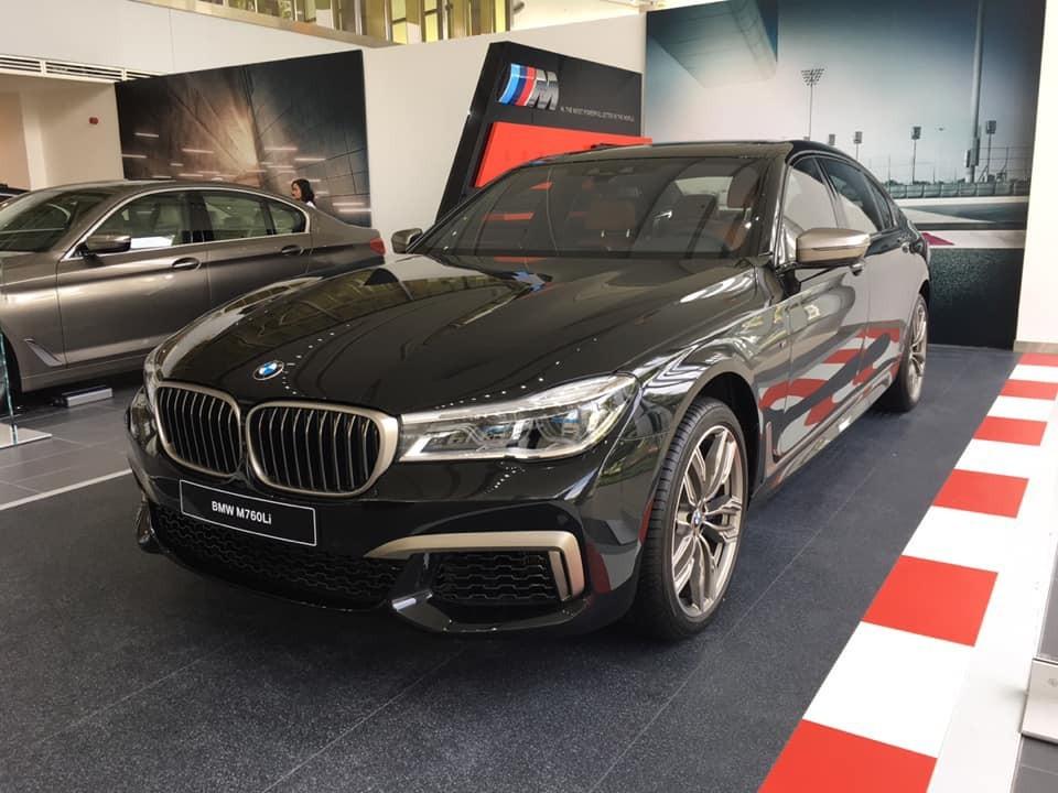 BMW M760Li 2019 về tới Việt Nam với 1 chiếc duy nhất trong lô BMW được THACO nhập khẩu dịp vừa rồi