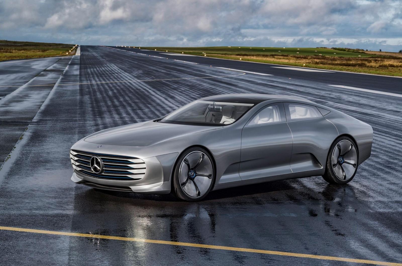 Mẫu xe concept mới của Mercedes sẽ có tích hợp công nghệ tân tiến đến mức nó gần như không thể đâm