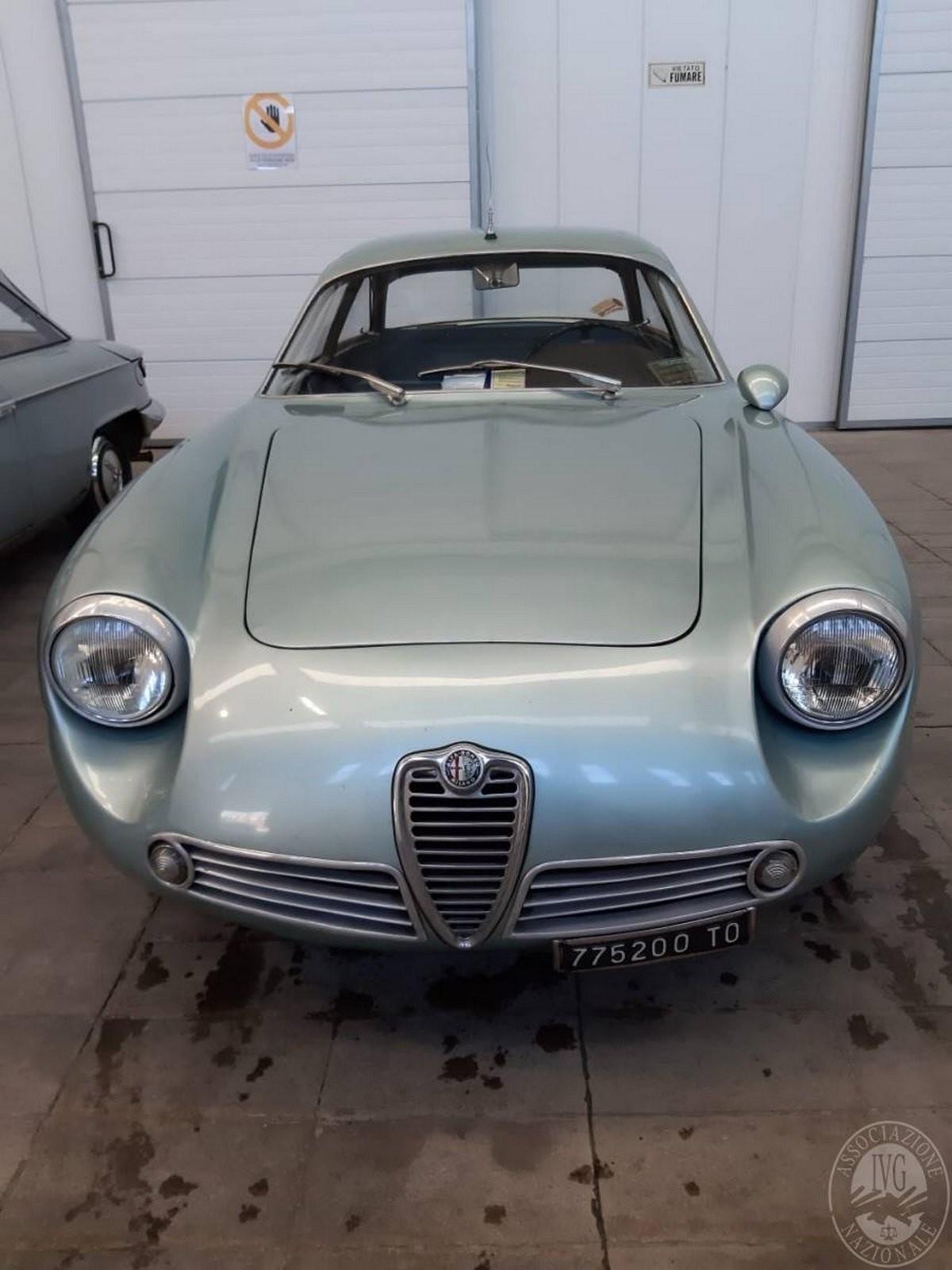 Alfa Romeo Giulietta SZ được trang bị thân vỏ bằng nhôm