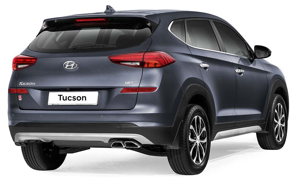 Hyundai Tucson 2019 tại Malaysia có thiết kế giống xe ở Mỹ và châu Âu