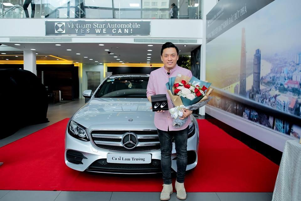 Lam Trường cũng là người chịu chơi khi tậu hẳn chiếc Mercedes-Benz E300 AMG