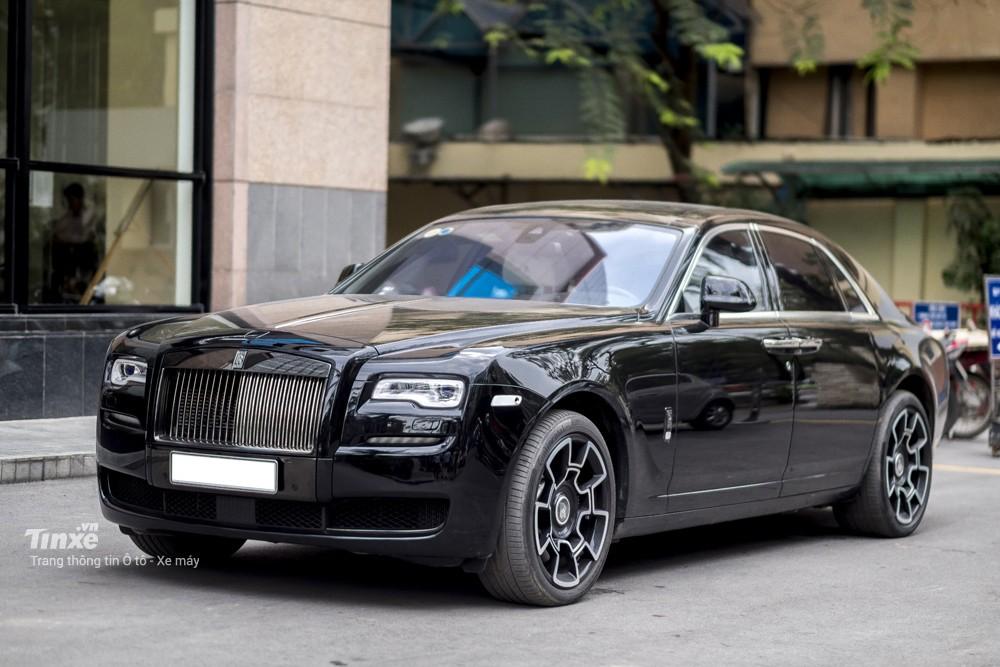 Rolls-Royce Ghost Black Badge độc nhất vô nhị tại Việt Nam