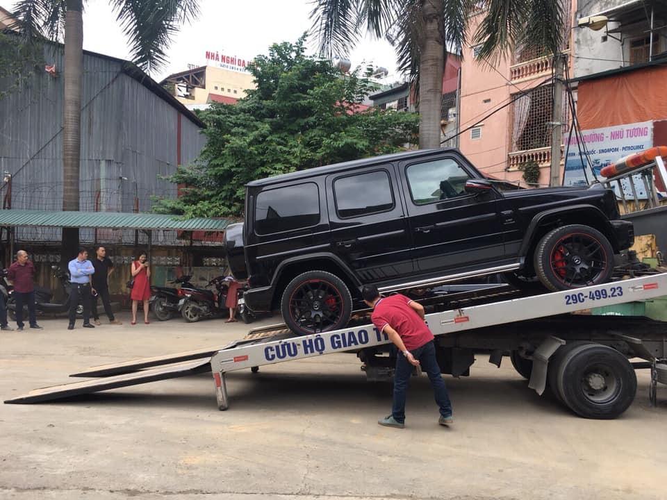 Chiếc Mercedes-AMG G63 Edition 1 2019 ở Hoà Bình được vận chuyển từ một công ty nhập khẩu tư nhân về