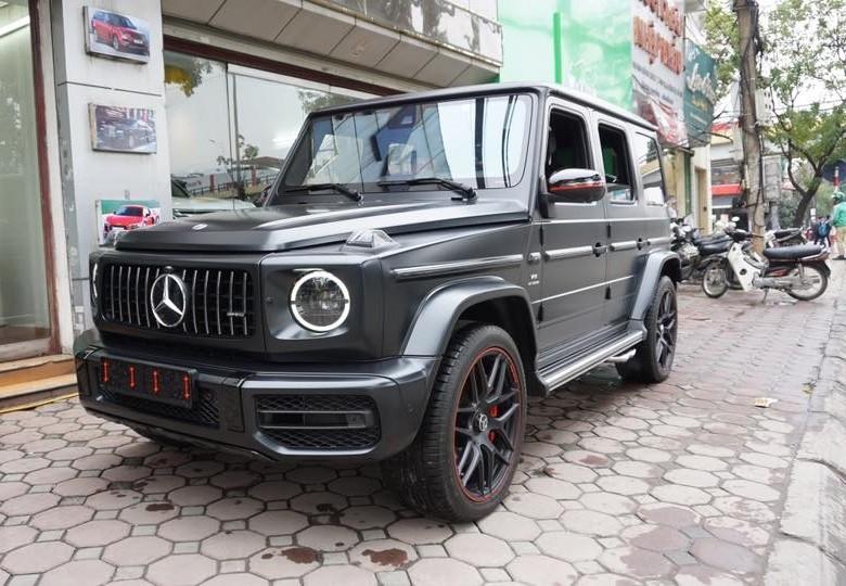 Mercedes-AMG G63 Edition 1 màu đen nhám độc nhất Việt Nam