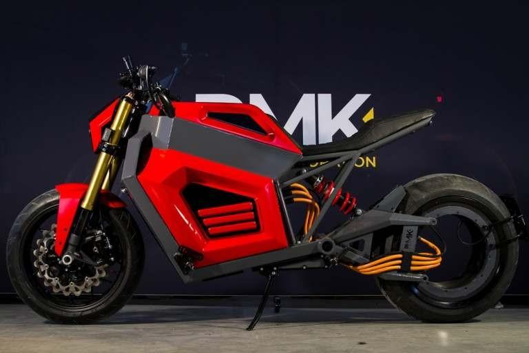 Xe mô tô điện RMK E2