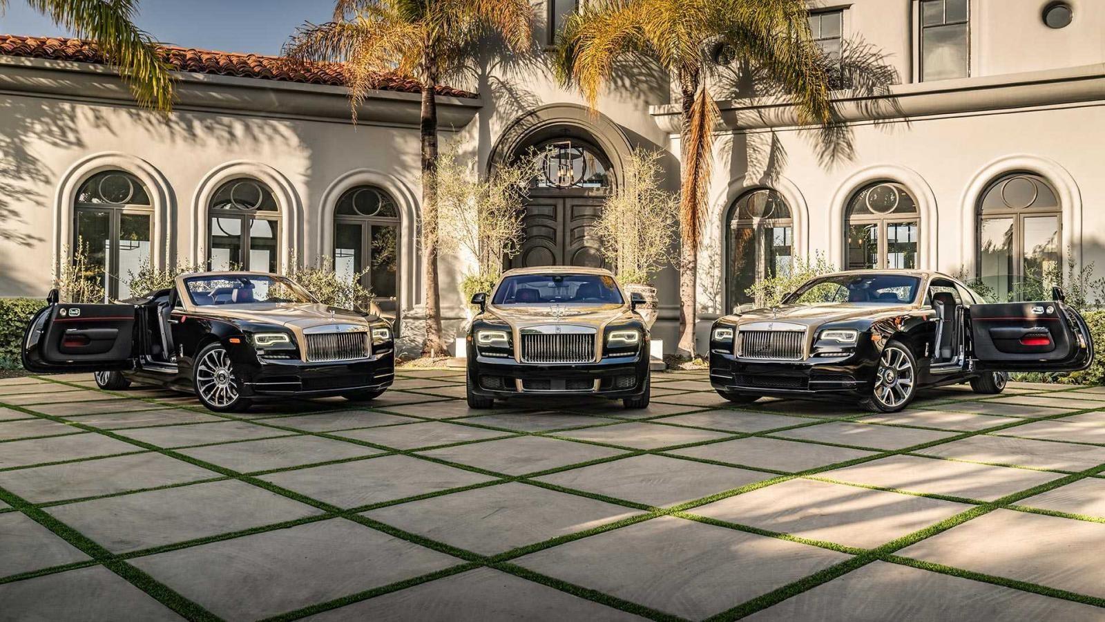 Bộ ba Rolls-Royce Ghost, Wraith và Dawn phiên bản Year of the Pig
