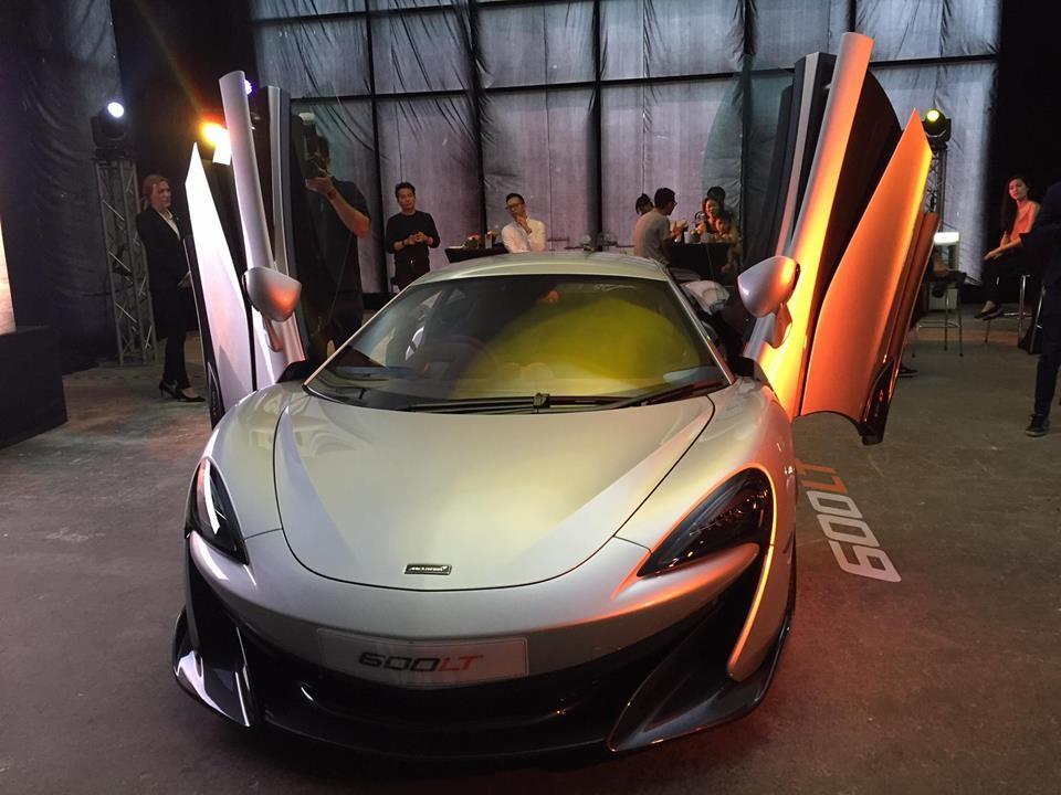 Siêu xe McLaren 600LT lần đầu ra mắt giới nhà giàu tại Malaysia
