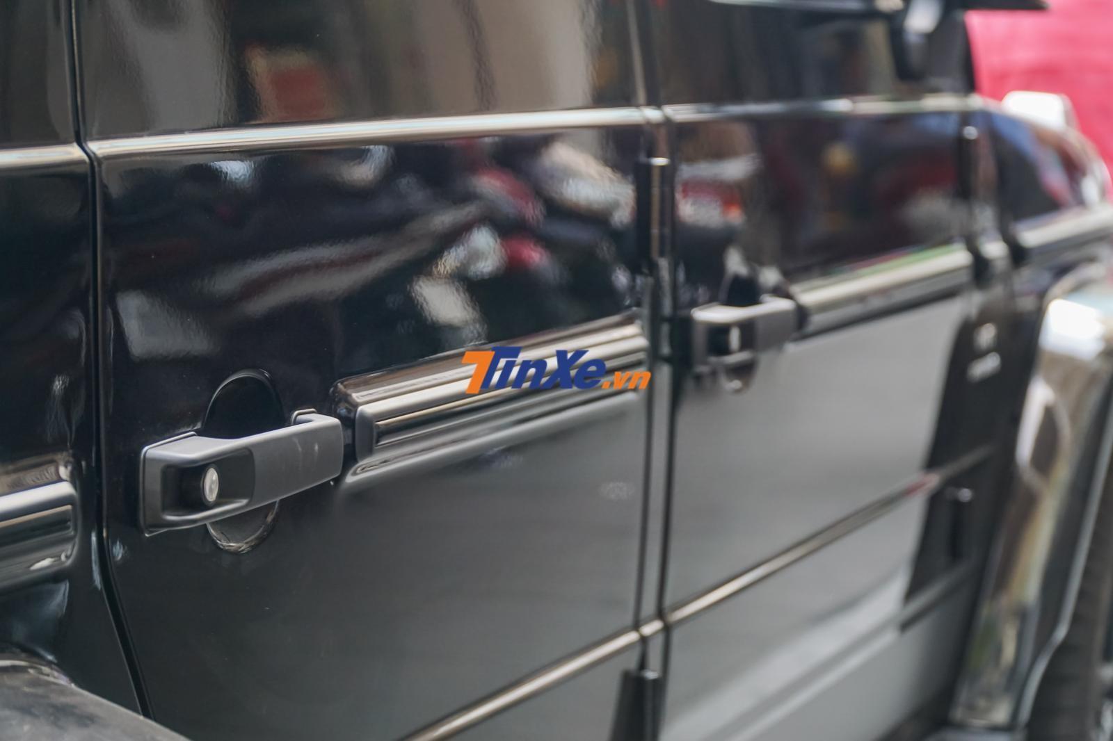Các vị trí như tay nắm cửa của Mercedes-AMG G63 Edition 1