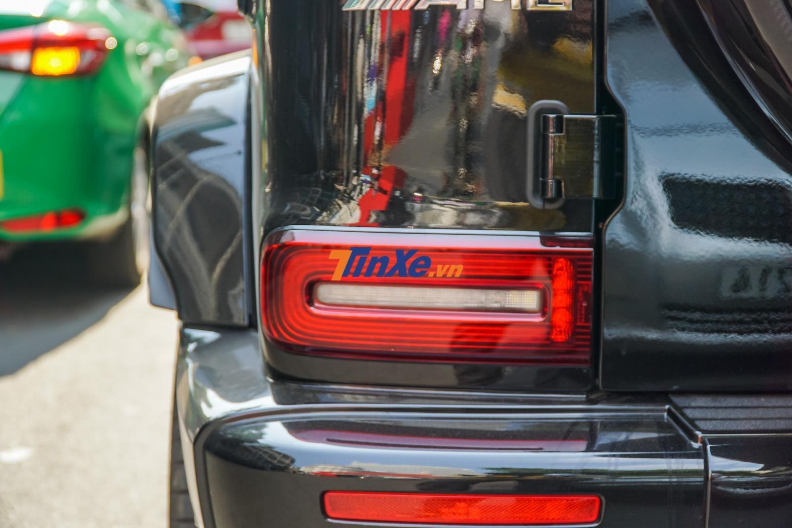Đèn hậu của Mercedes-AMG G63 Edition 1 thiết kế lại hoàn toàn