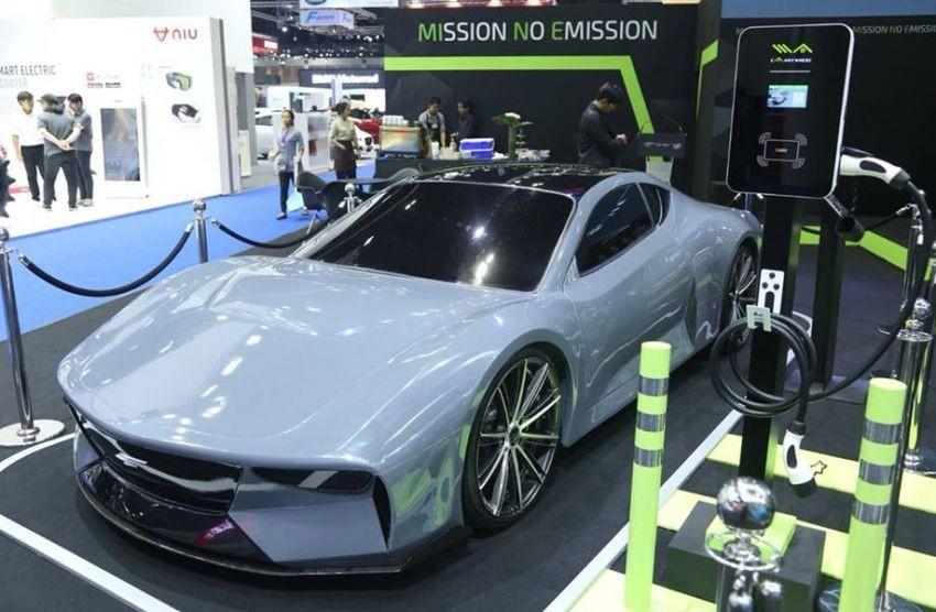 Concept ô tô điện được Energy Absolute phát triển cho Thái Lan