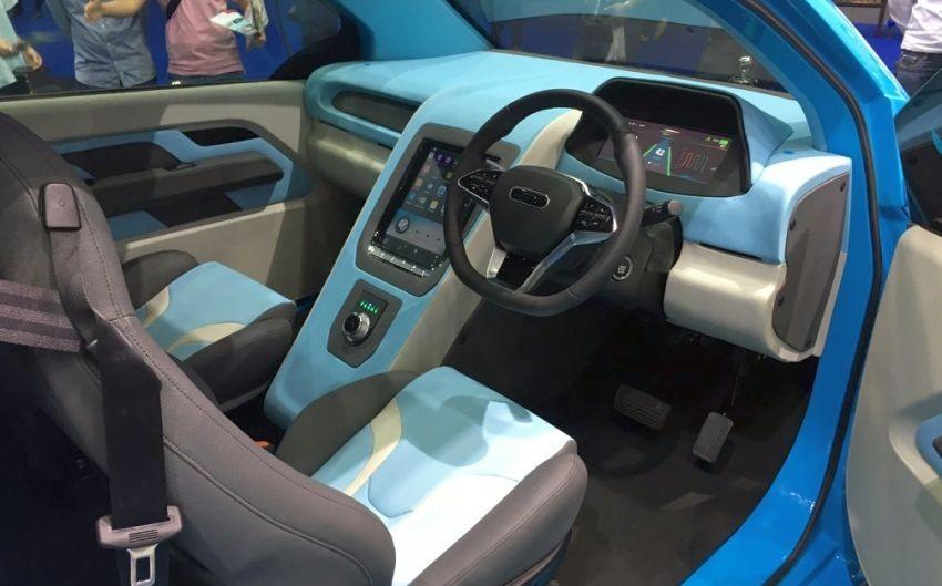 Bên trong nội thất của mẫu concept ô tô điện đô thị