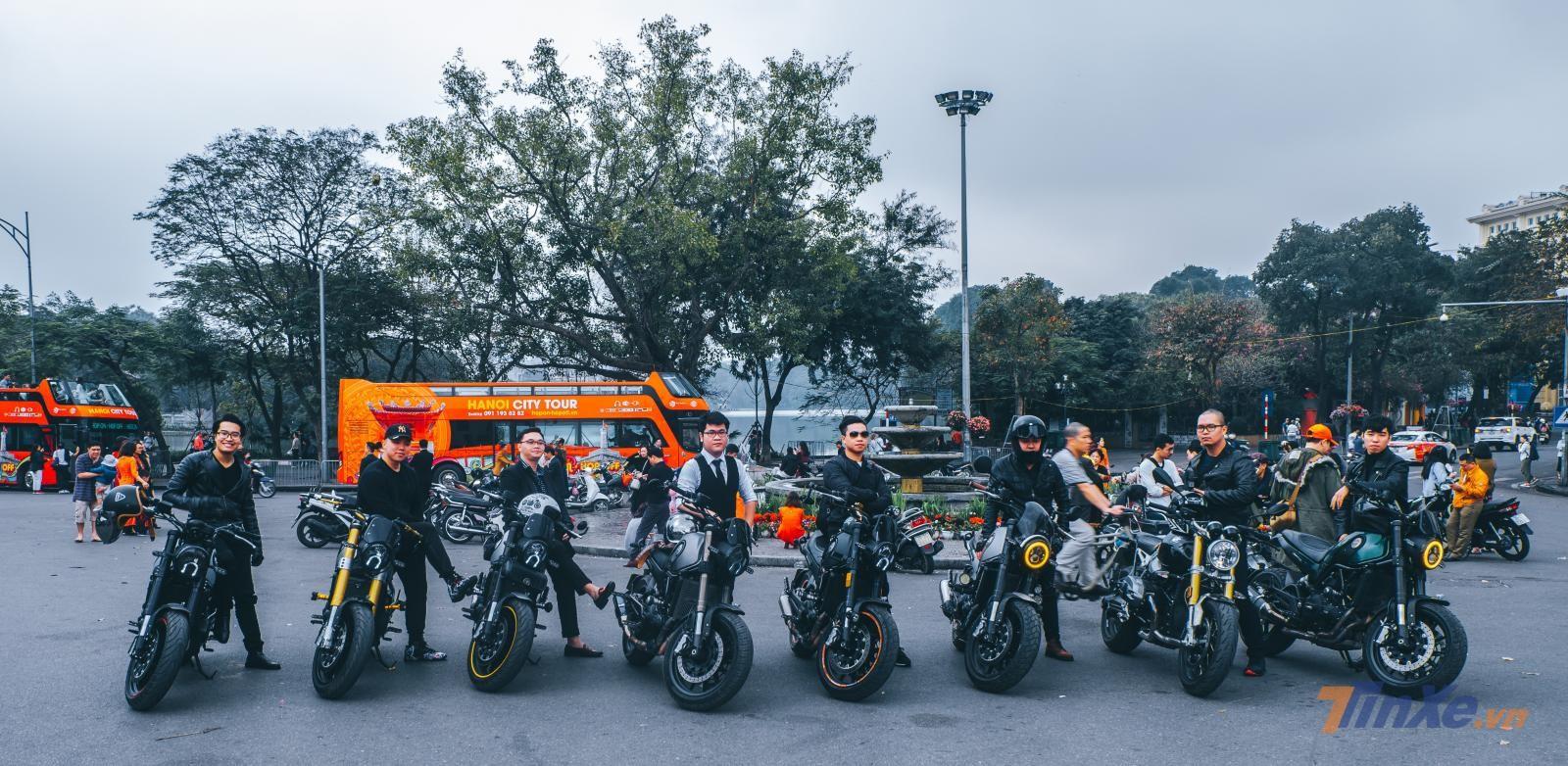 Sớm mồng 1 Tết Kỷ Hợi cùng team Leoncino và các biker Hà Nội - 5