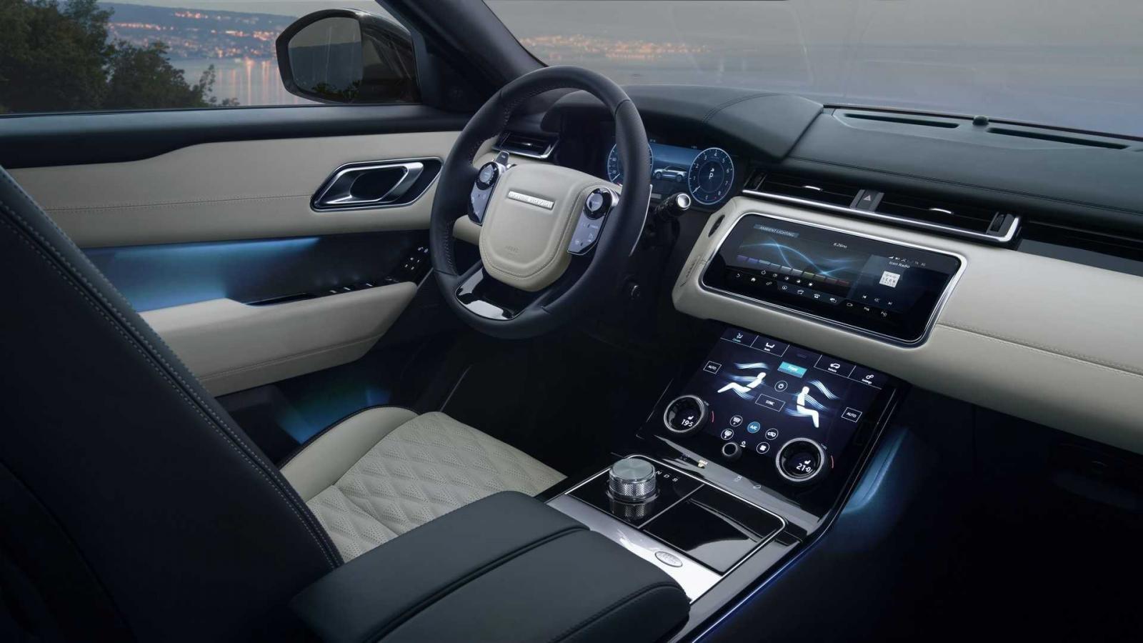 Nội thất bên trong Range Rover Velar SVAutobiography Dynamic Edition