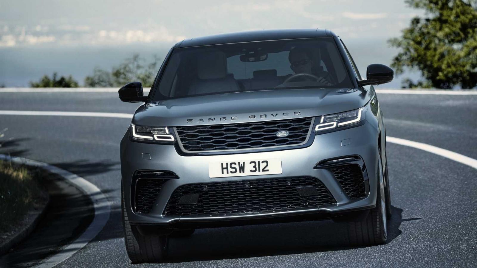Range Rover Velar SVAutobiography Dynamic Edition có hốc gió trước cỡ lớn hơn