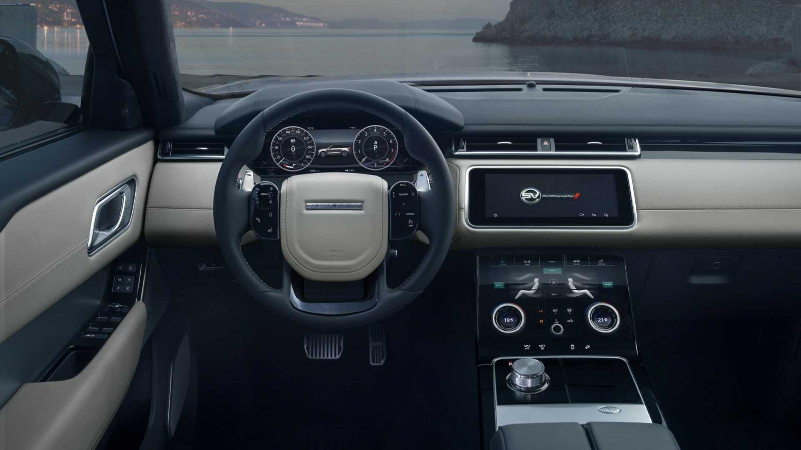 Range Rover Velar SVAutobiography Dynamic Edition được cải tiến nhẹ trong nội thất