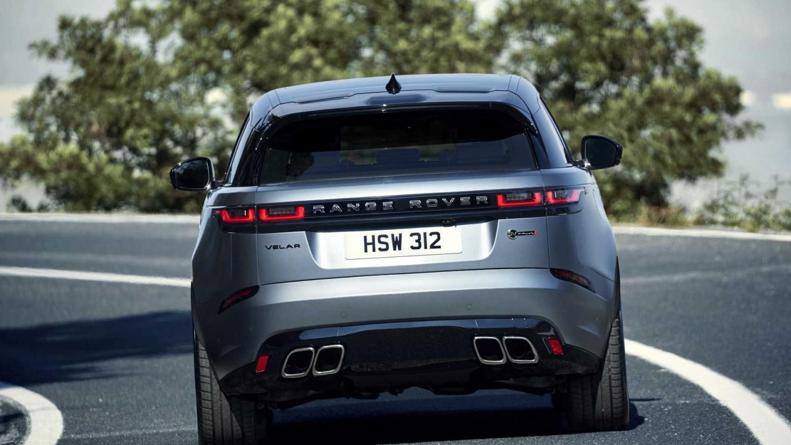Range Rover Velar SVAutobiography Dynamic Edition có 4 ống xả