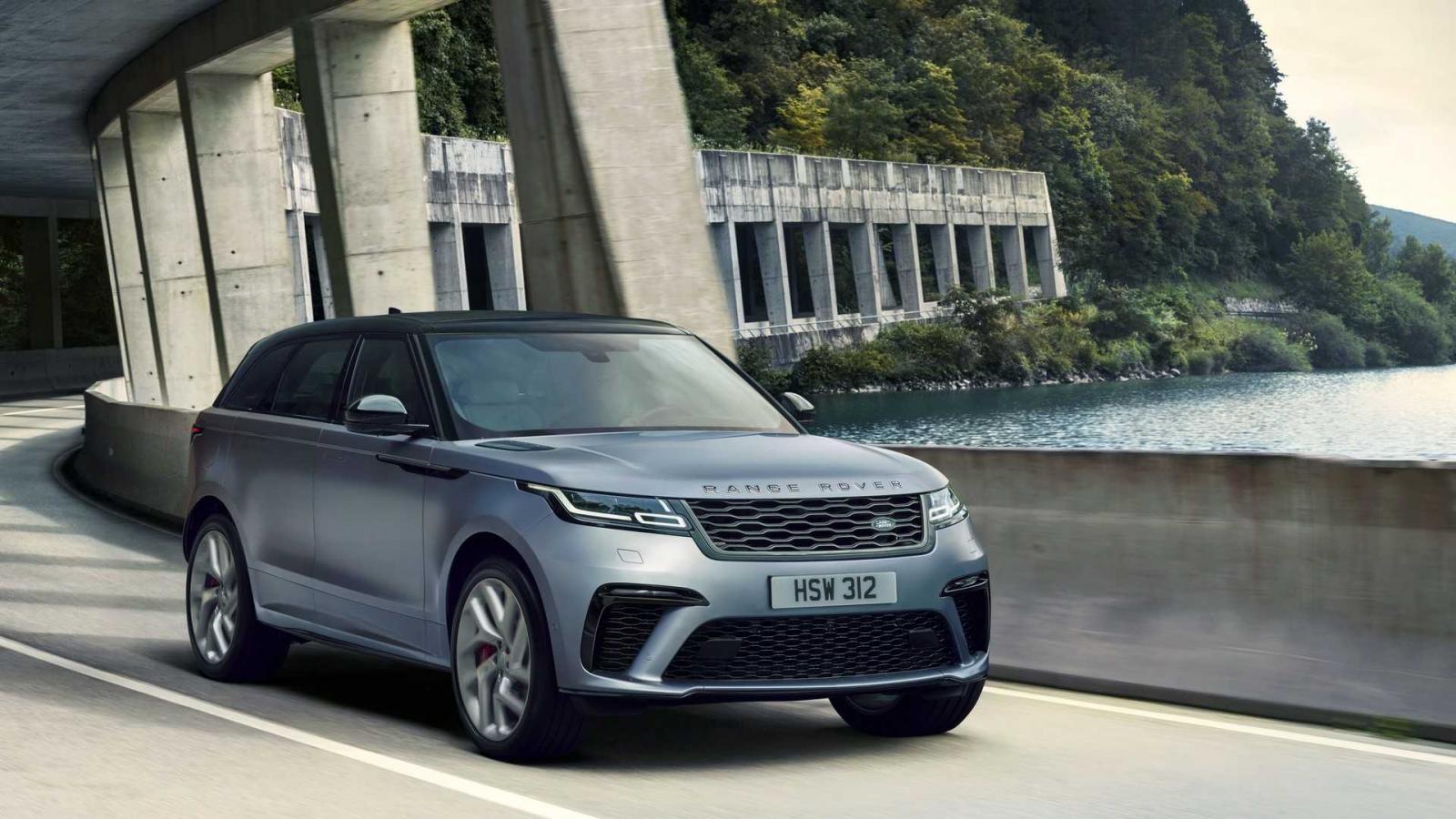 Range Rover Velar SVAutobiography Dynamic Edition tăng tốc từ 0-100 km/h trong 4,5 giây
