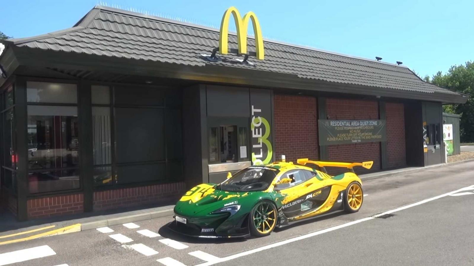McLaren P1 GTR là siêu xe chuyên dành cho đường đua