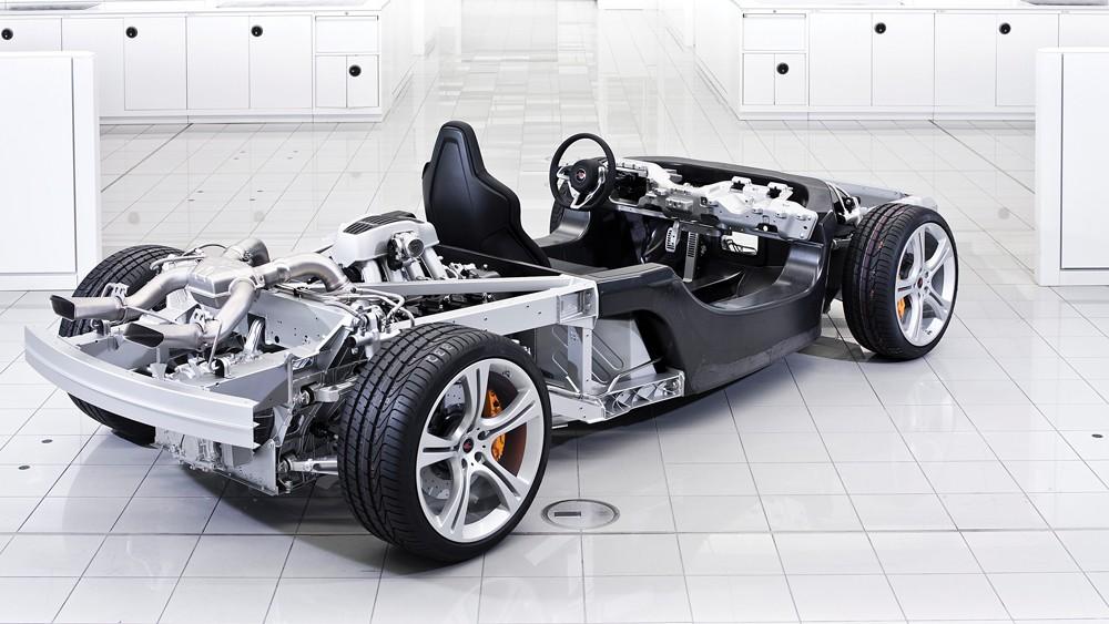 Carbon là vật liệu ưa thích của những chiếc siêu xe.