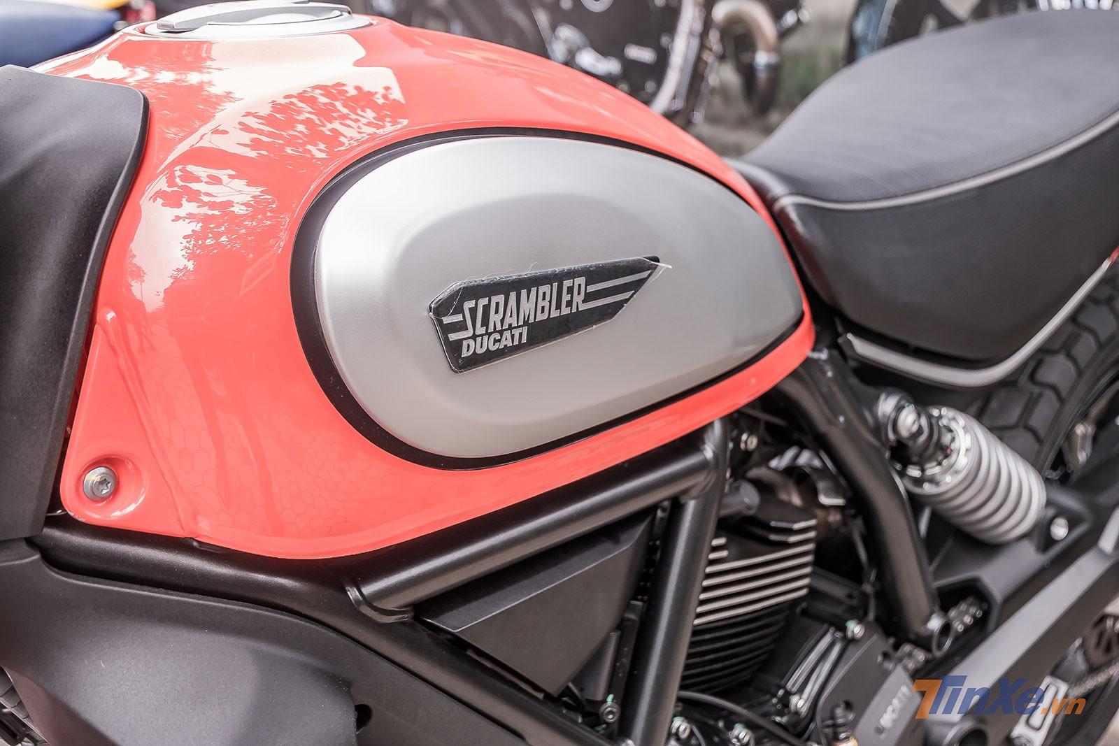 Ducati Scrambler Icon 2019 được bổ sung thêm màu Cam hoàn toàn mới