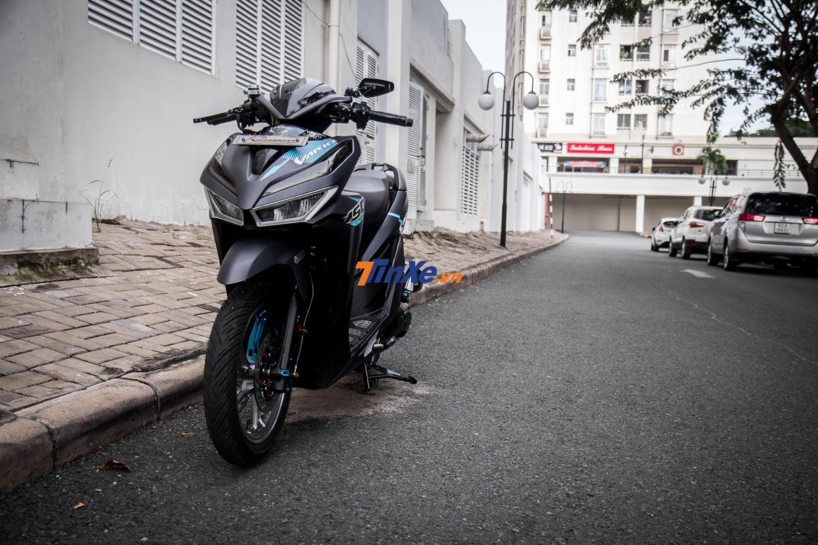 Đánh giá xe Honda Vario 150 2018 độ khủng tại Sài thành
