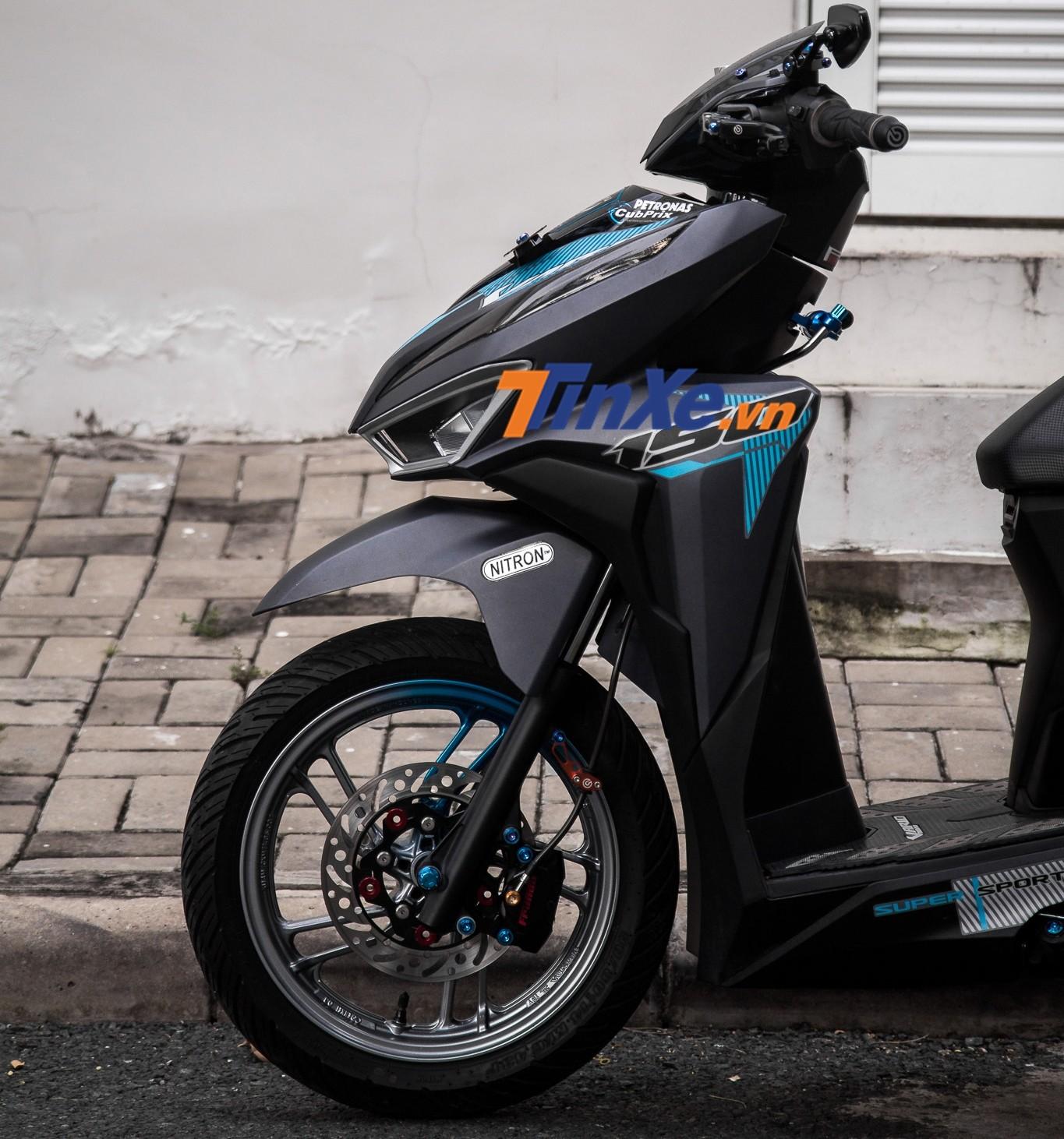 Bộ tem này là của mẫu xe Honda Vario 150 2018 phân phối chính hãng tại Malaysia