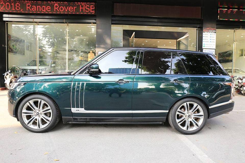 Đánh giá nhanh Range Rover HSE độ body kit SVAutobiography