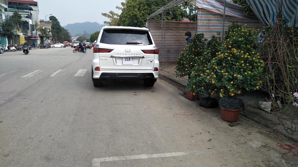 Đây là chiếc Lexus LX570 Super Sport thứ 2 mang hộ khẩu ở Lào Cai