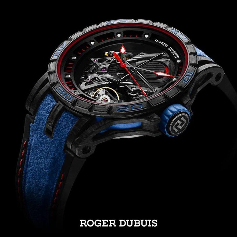 Roger Dubuis Excaliber Aventador S là mẫu đồng hồ dành cho các tín đồ của Lamborghini.