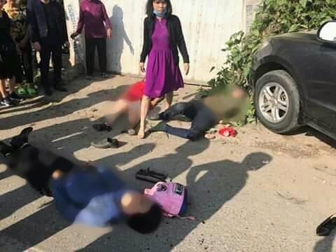 Các nạn nhân trong vụ tai nạn