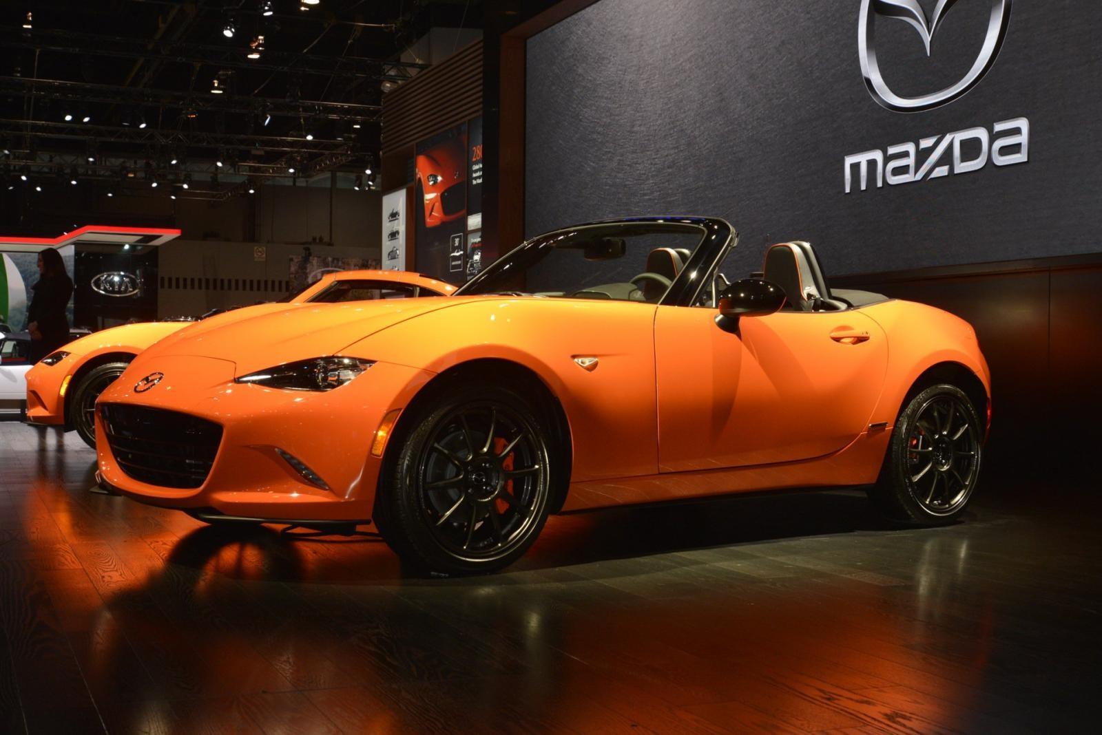 Mazda MX-5 30th Anniversary Edition ra mắt ở Triển lãm Ô tô Chicago 2019