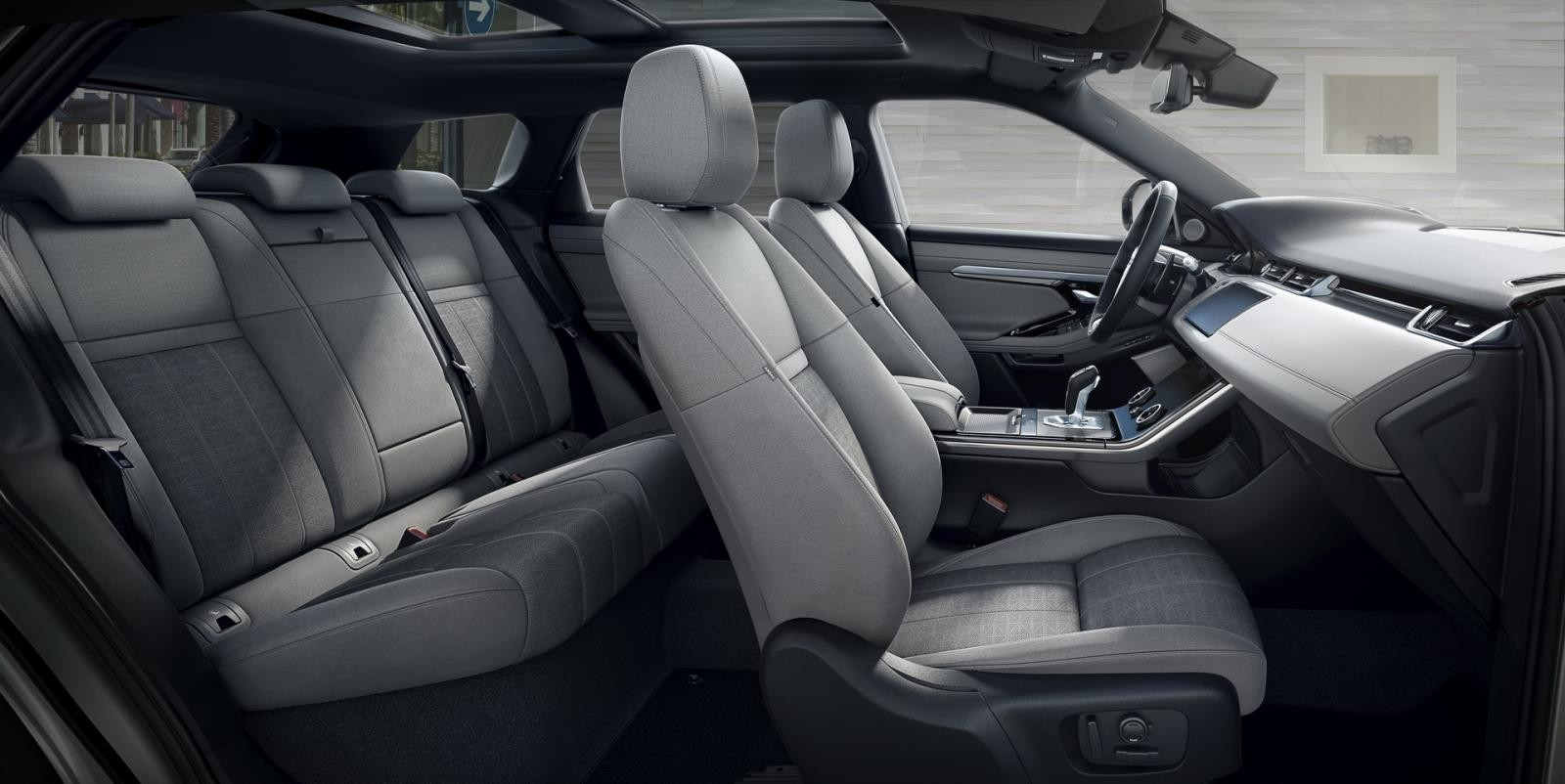 Nội thất bên trong Range Rover Evoque 2020