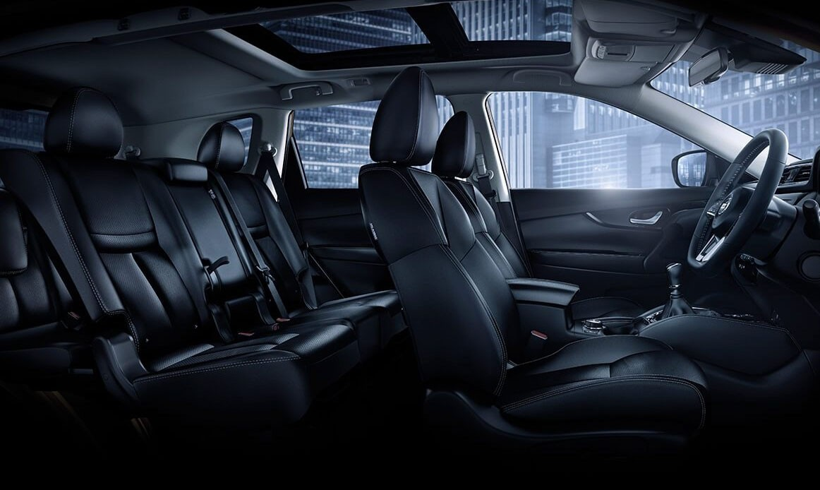 Nội thất bên trong Nissan X-Trail 2019