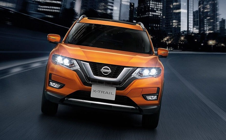 Nissan X-Trail 2019 phiên bản màu cam