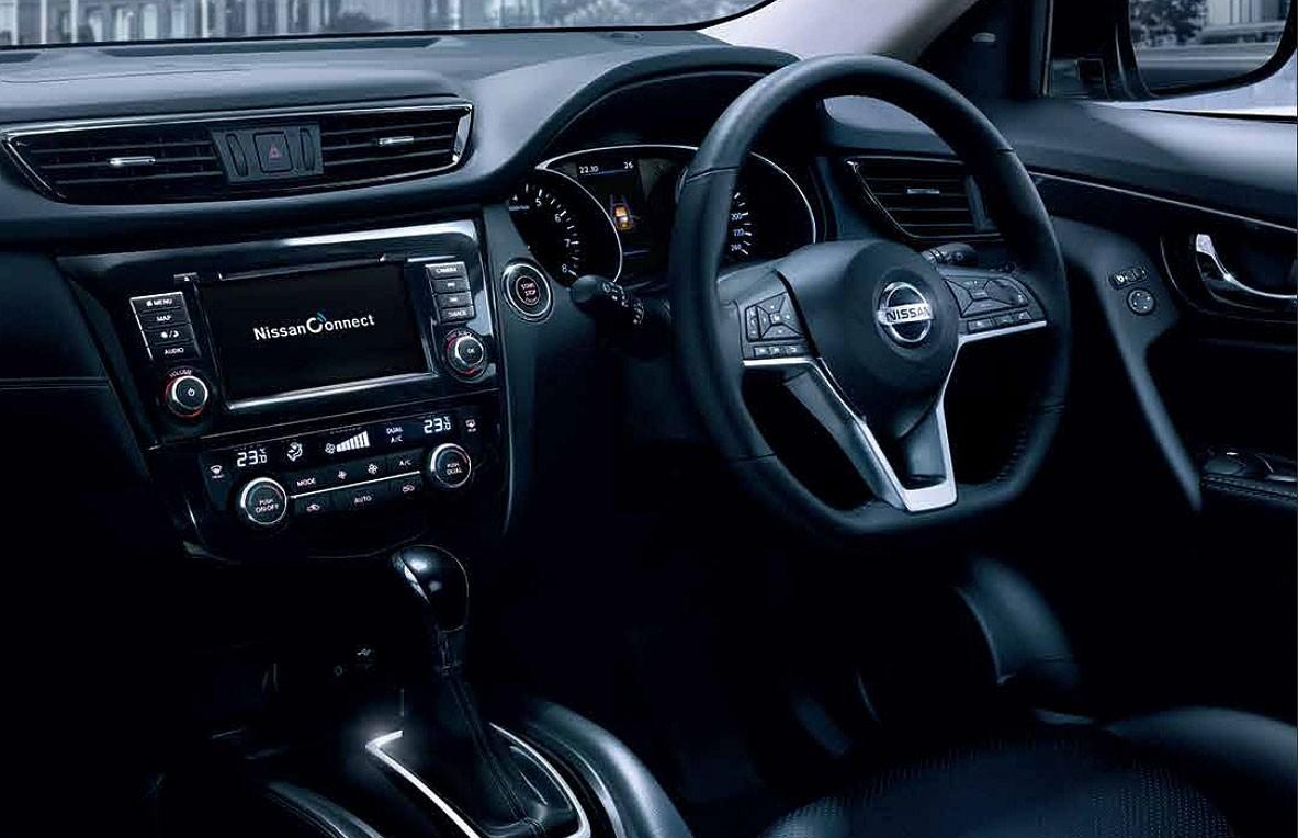 Nissan X-Trail 2019 được bổ sung vô lăng đáy phẳng thể thao hơn