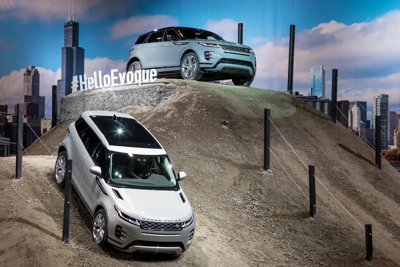 Range Rover Evoque 2020 ra mắt trong triển lãm Ô tô Chicago 2019