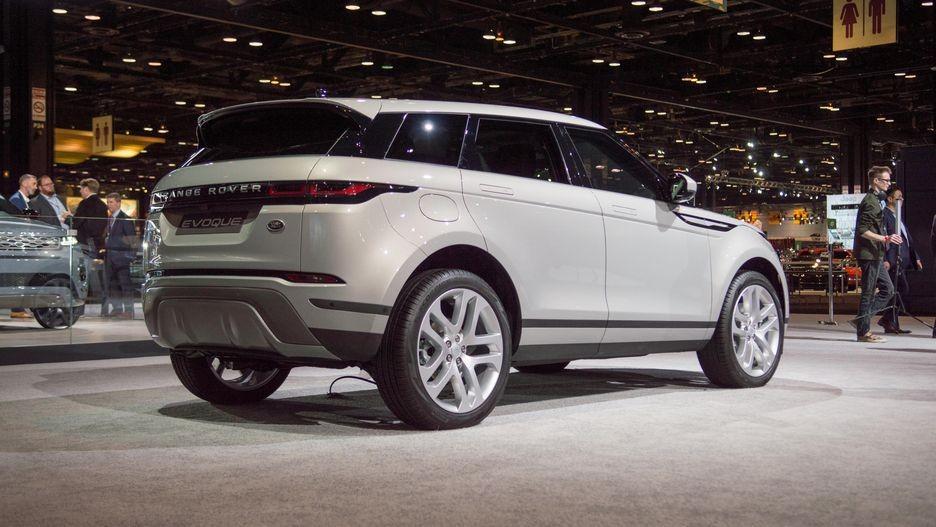 Range Rover Evoque 2020 còn có cả hệ thống mild hybrid