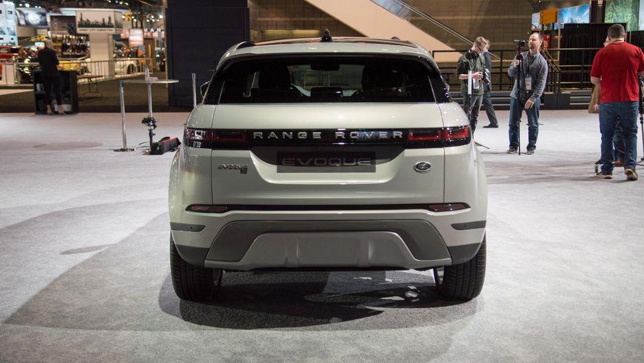 Range Rover Evoque 2020 tại Mỹ có động cơ xăng tăng áp 2.0 lít