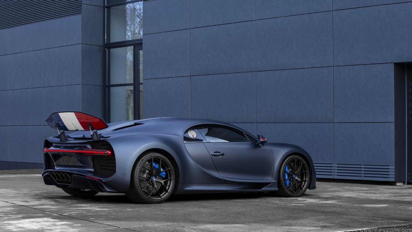 Sẽ chỉ có 20 chiếc Bugatti Chiron Sport 110 Ans Edition được sản xuất