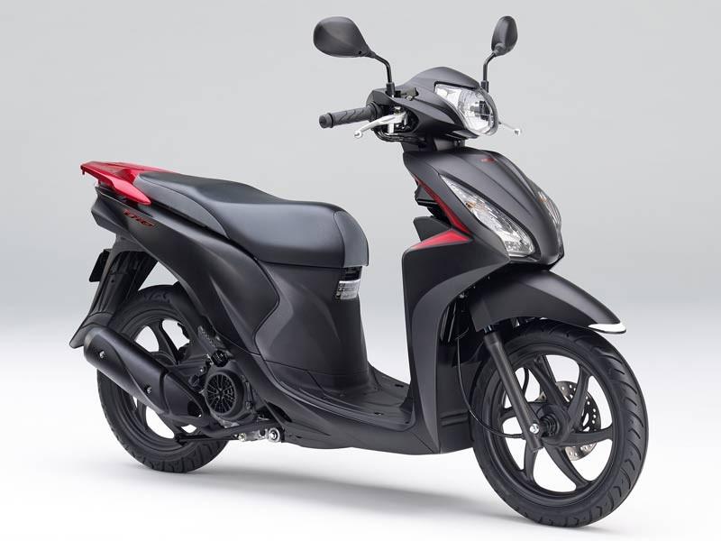 Honda Dio 110 2019 Black matte