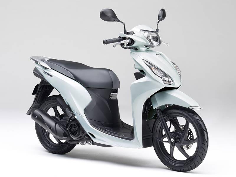 Honda Dio 110 2019 White pearl